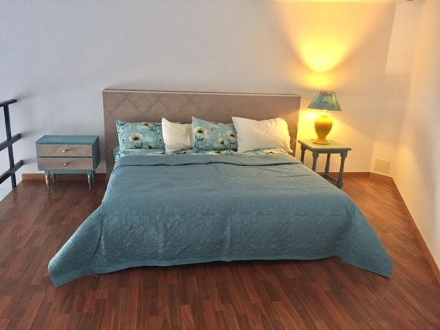 top bedroom - Comfy loft out of tourist, Golf del Sur, Tenerife