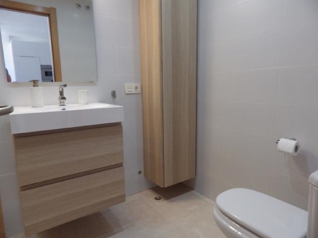 Bathroom - El Medano apartment, El Medano, Tenerife