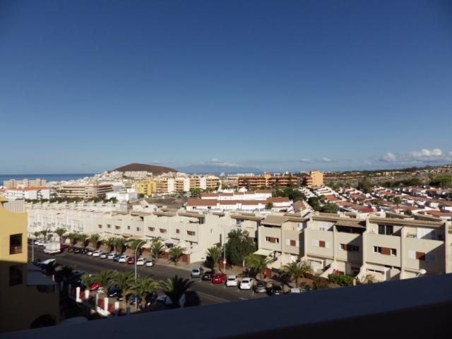 Balcony with sea view - Castle Harbour, Los Cristianos, Tenerife