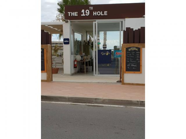19th Hole bar - Fairways Club, Amarilla Golf, Tenerife