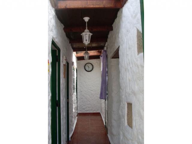 All the rooms lead off a central hallway - Finquita Strelitzia, San Miguel, Tenerife